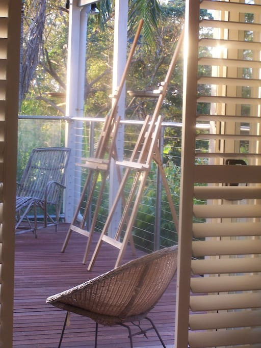 Lovely deck to enjoy