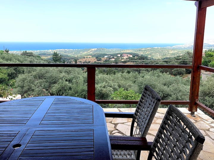 Zeus, the House for Complete Relaxation in Kournas