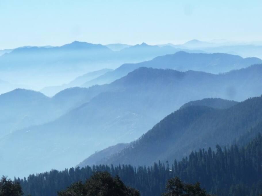 View from Jalori pass