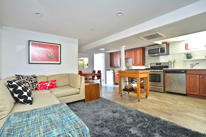 Clean, New Private Garden Level Apartment in BKLYN