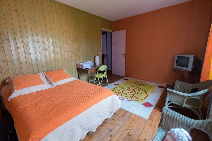 Chambre spacieuse - Tullins - House