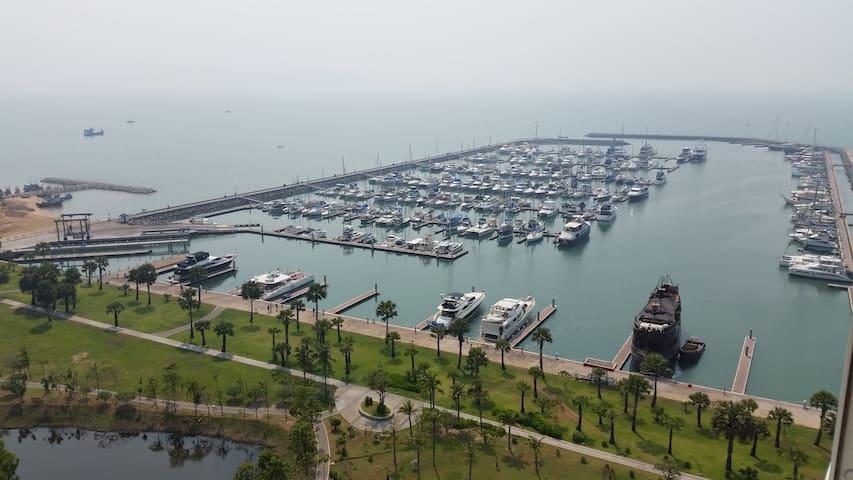 Gorgeous 2 bed Pattaya marina condo - Pattaya - Apartment