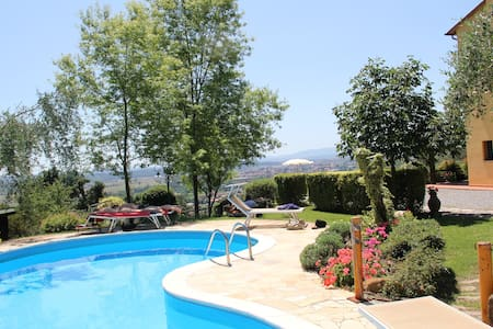 Casolare toscano con piscina - Cascine-la Croce