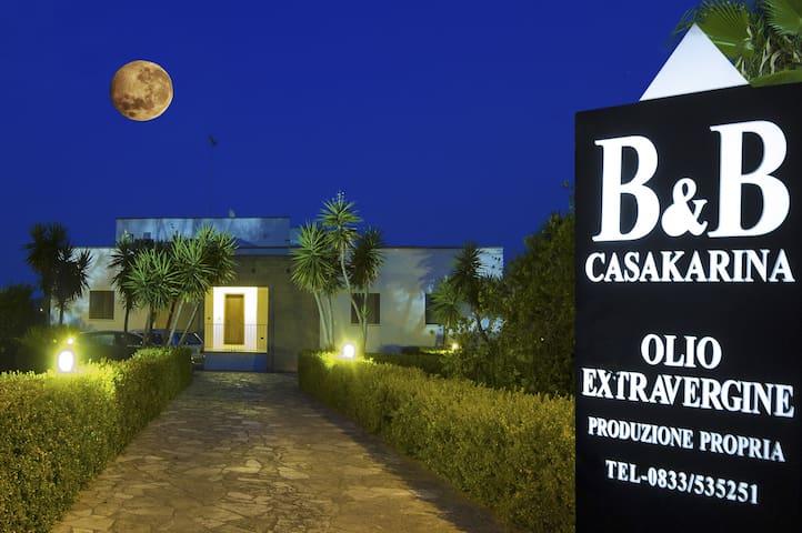 Cosy and Comfortable B&B casakarina - Specchia - Bed & Breakfast