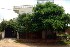 Green home, village view