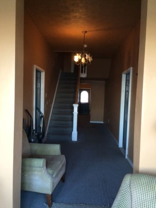 separate entrance to your own room.