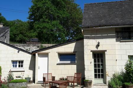 Un gîte pour 2 au calme entre Angers et Saumur
