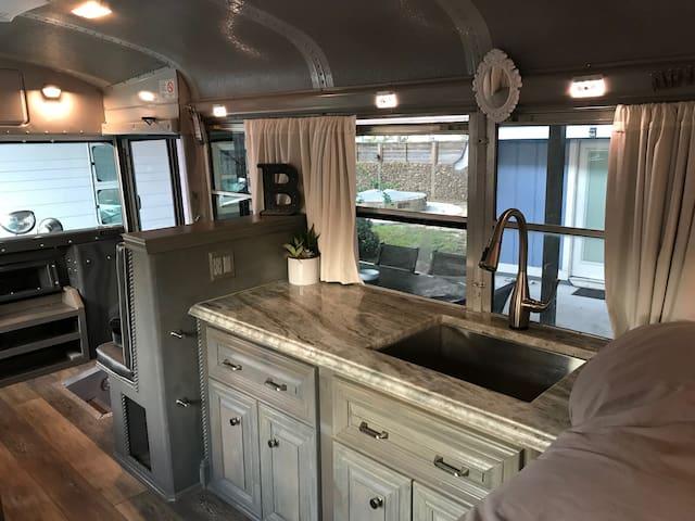 Kitchen / Sink Area