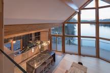 Awe-Inspiring Lakeside Villa on Private Lot