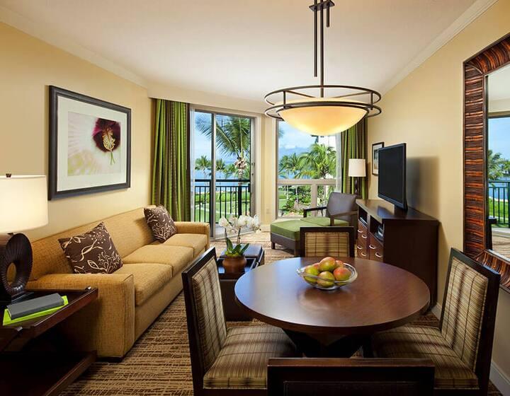 Maui Luxurious 1BR Oceanview Resort Villa