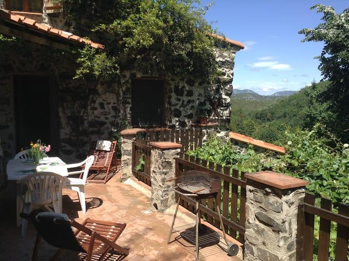 Balcony gite, Threeroofs, Pyrenees