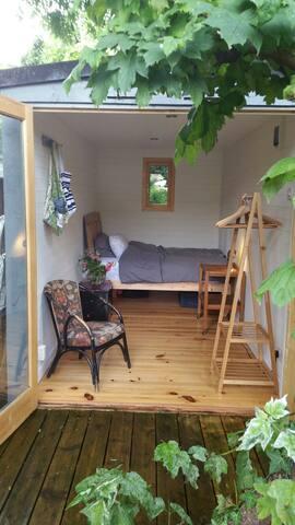 Peaceful garden room - Cambridge - Cabaña