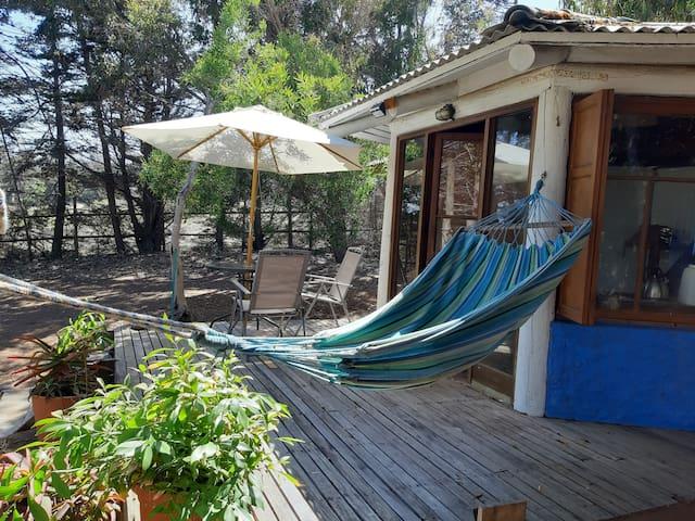 Cabaña 2 personas Bahía Azul, Pichidangui