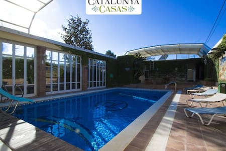 Villa Amalia La Llacuna for up to 22 guests in the Catalonian countryside! - Casa