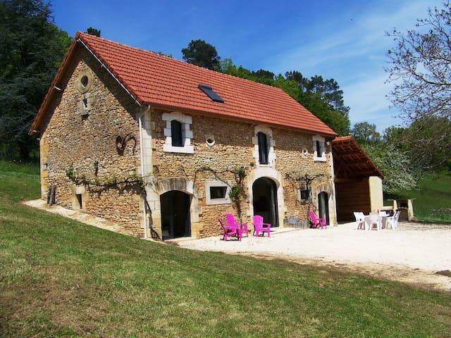 La grange de Loubéjac - 薩拉拉卡內達(Sarlat-la-Canéda) - 獨棟
