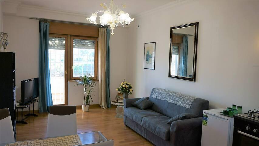 Ponte Milvio Sunny Apartment - Roma - Apartamento