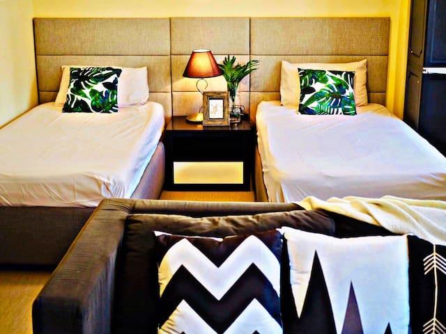 Hotel-inspired Suite just beside Grand Hyatt BGC