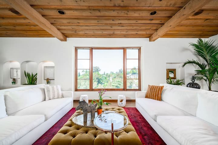 """Villa Falconiare"" A Hollywood Hills  Estate"