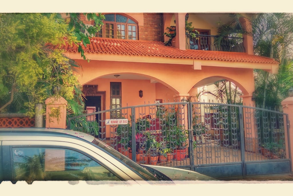 This is where you will live. The best Airbnb Stay in Bangalore