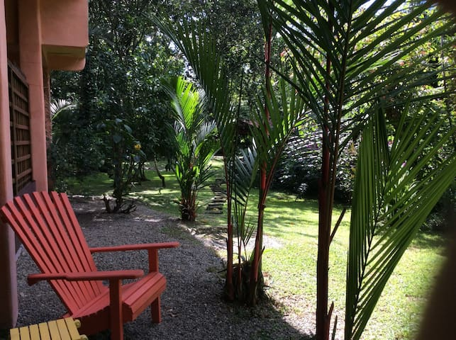 Very spacious, open air garden apt. - Puerto viejo - Apartament