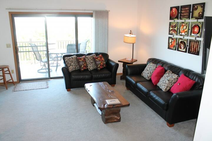 Lovely and Peaceful 2 bed 2 bath Condo - 1 mile SDC - Lake Views - Pool and Jacuzzi