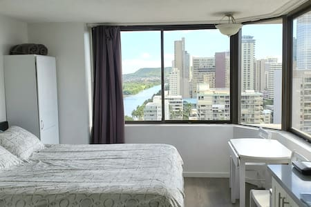 Renovated unit with a beautiful view