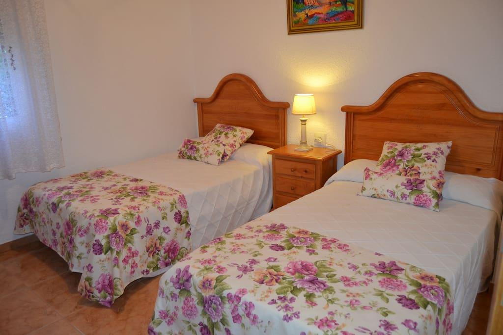 Habitación doble-2 camas de 110cm (Hab 3)