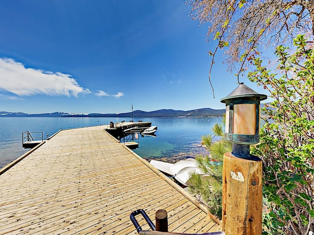 Your rental is located in the Brockway Springs gated community with a dock and swimming area.
