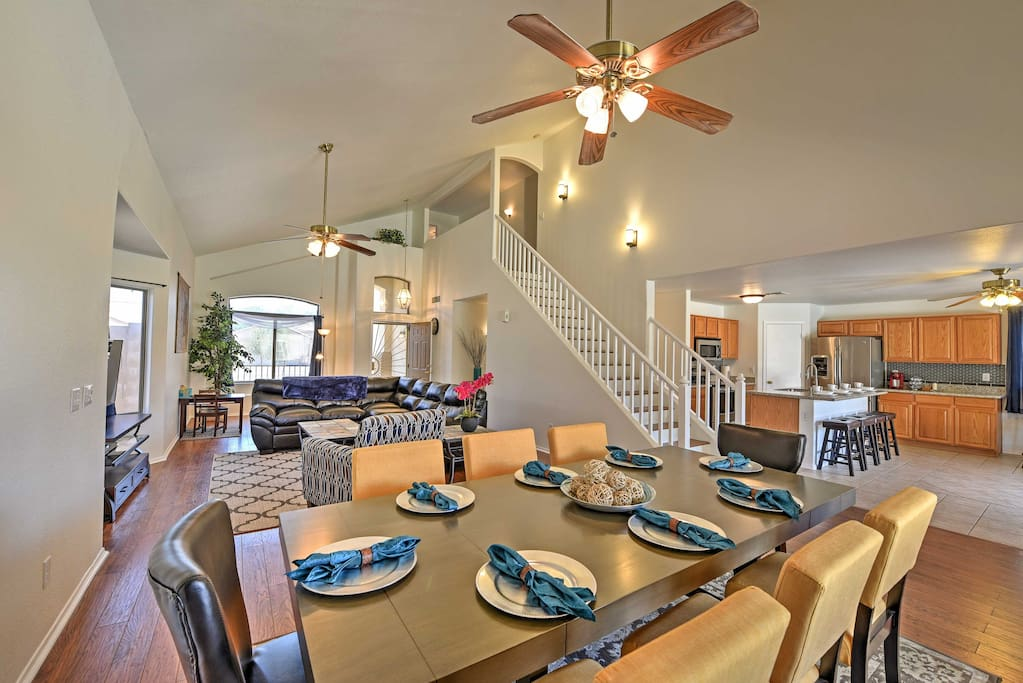 Ample amenities and plush furnishings will make you feel right at home.