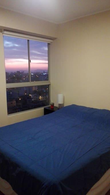 Acogedora habitación con cama de 2 plazas