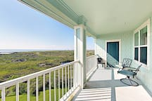 Enjoy morning coffee and beautiful bay views from the comfort of your private 3rd-floor balcony.