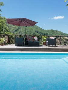Surya Pyrenees B&B Foix - Yoga/Pool/Views/Gdn Rm 4 - Foix - Bed & Breakfast