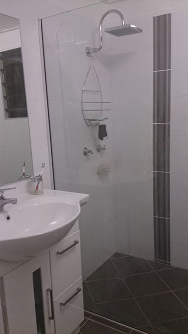 Newly renovated shared bathroom
