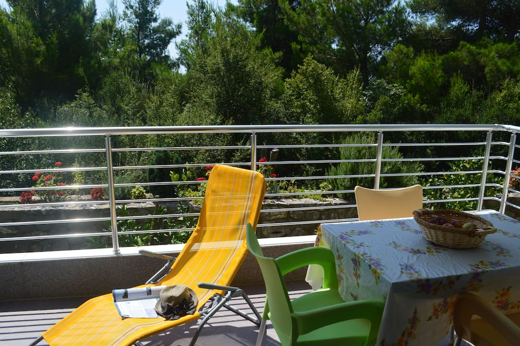 private teracce of apartment 1. Vukovic