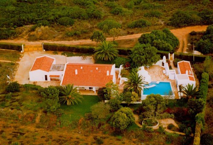 Quinta Rosa - Secluded Farmhouse with Pool - Barão de São João