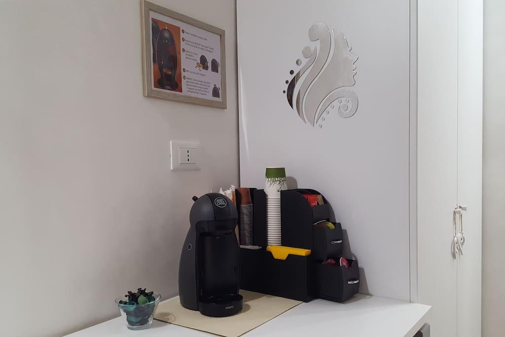 macchina del caffè Nescafè con cialde