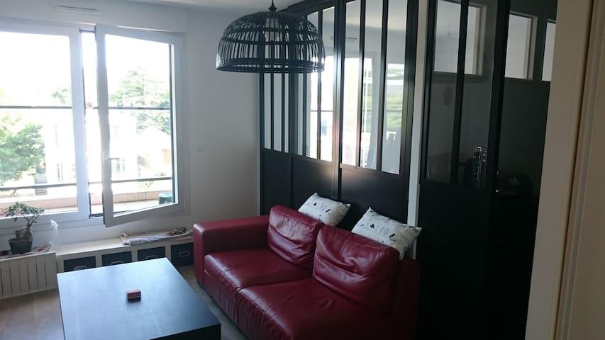 Grand studio proche Paris - Eaubonne - Condominium