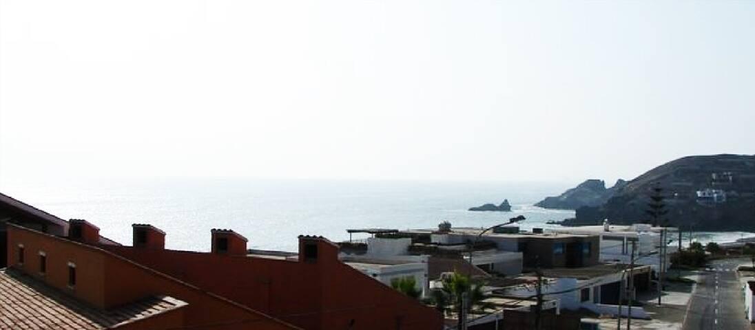 Santa María- vista al mar
