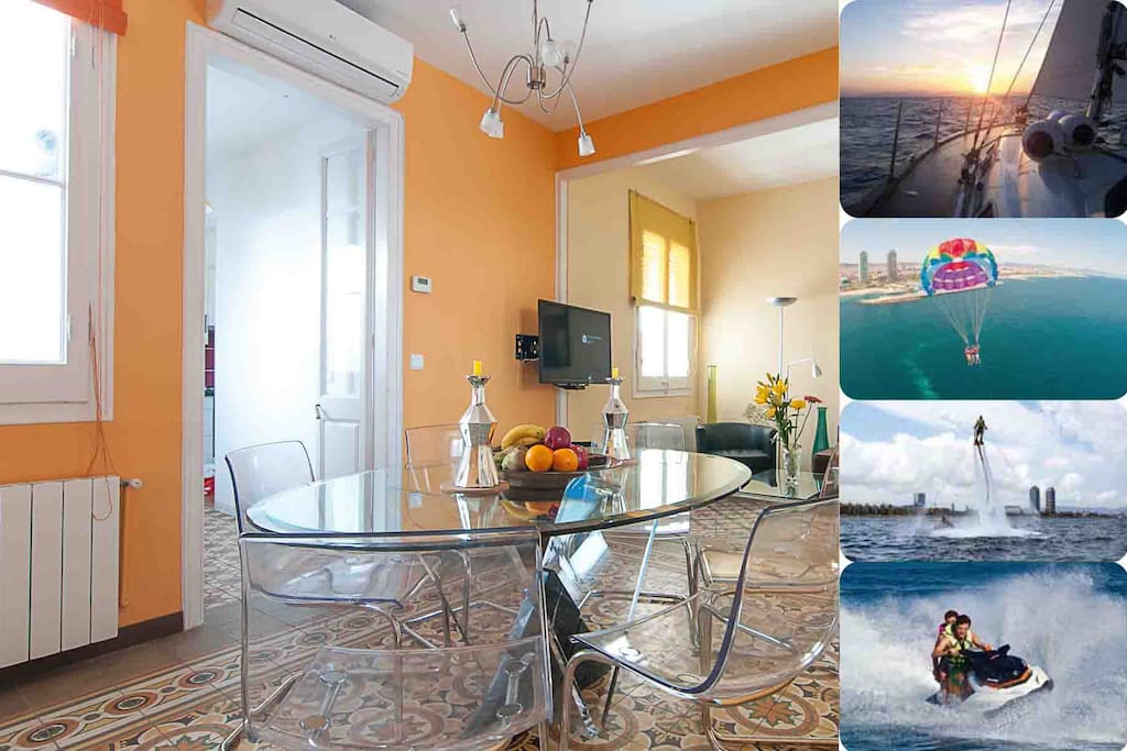Double apartment  close to the Sagrada Familia with stunning activities!