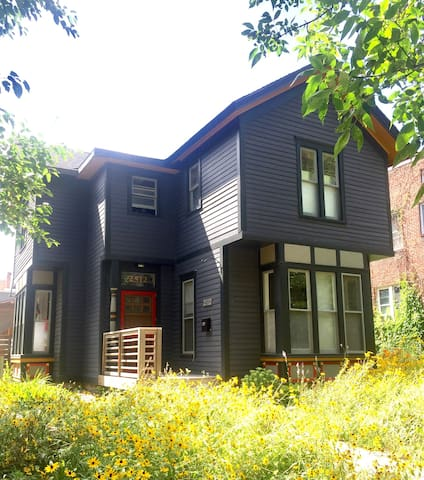 Micro Apt. In Historic Home. - Minneapolis - Huis
