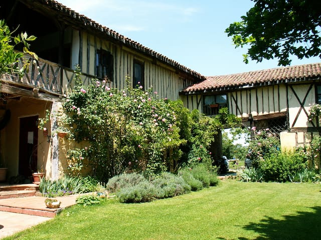 B&B in Gascony 18thC coaching inn  - Fontrailles - Bed & Breakfast