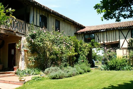 B&B in Gascony 18thC coaching inn  - Fontrailles - Szoba reggelivel