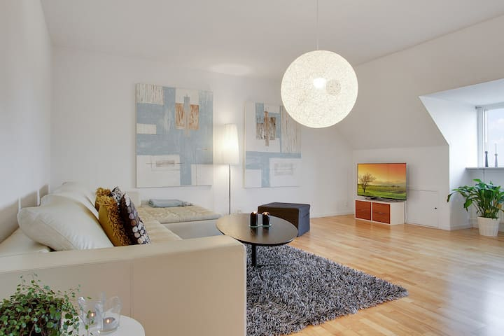 Stylish apartment in central Holbæk