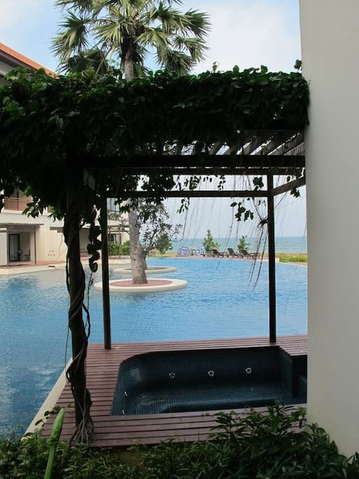 Private Jacuzzi on the terrace