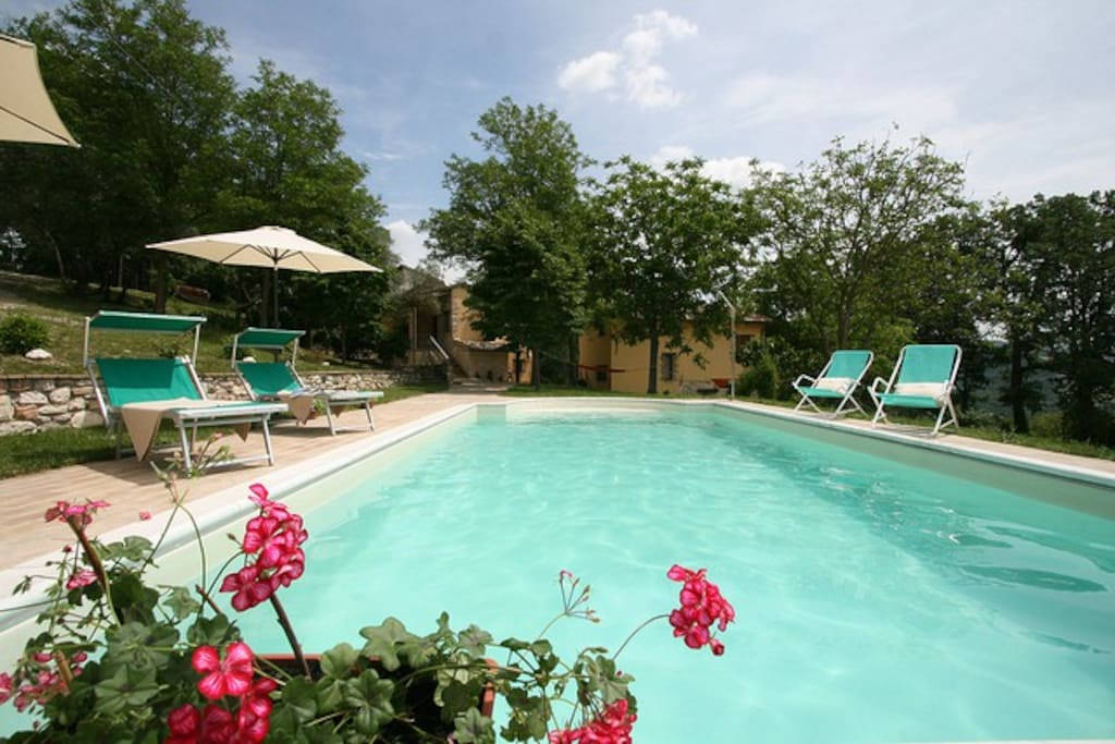 Lilla Apt In Countryhouse With Pool Apartments For Rent