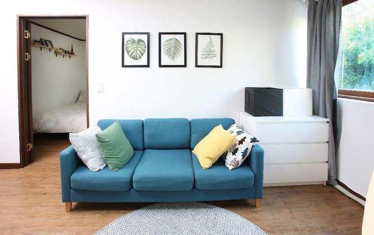 [서울역] 방 3개, 큰 주방, 무료주차 1대가능