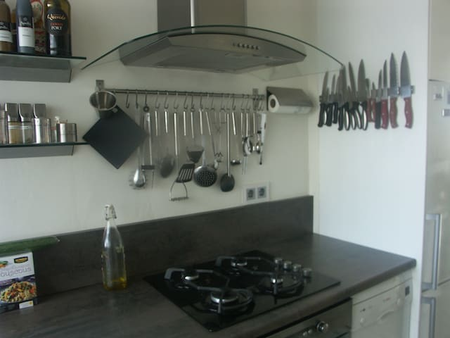 keuken met vaatwasser, compleet ingericht