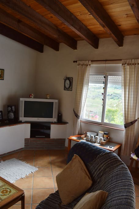 1st floor studio apartment with tv and dvd