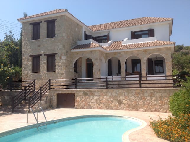 Large Room with en-suite - Pool - Mountain Views - Peristerona - House