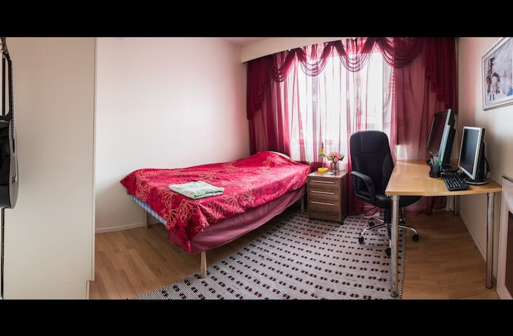 Private room in Sammonlahti, Lappeenranta - Lappeenranta  - Departamento
